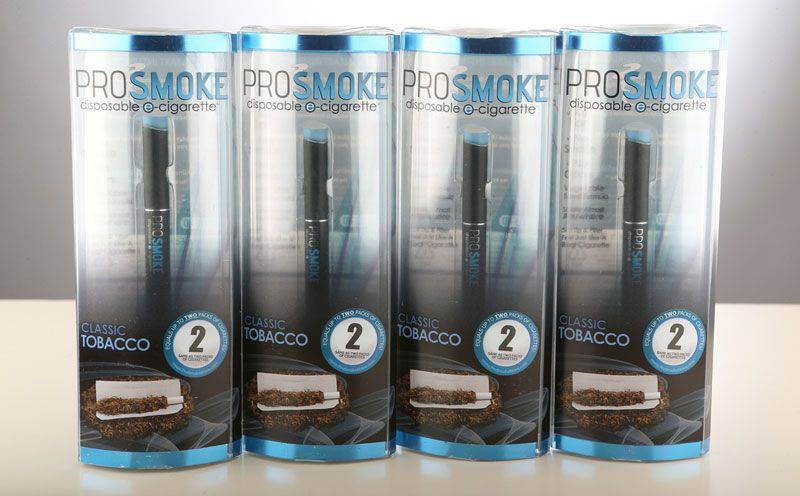 Disposable Electronic Cigarette Bundle (4-Pack Bundle Classic Tobacco)