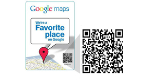 Awarded the Favorite Place on Google!