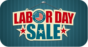 Labor Day Savings for All Of Your Hard Work this year!