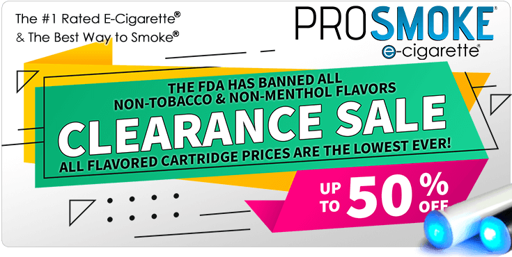 FDA Has been flavored cartridges in 2020. Clearance sale and sto
