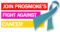 E-cigarete companies that support cancer charity